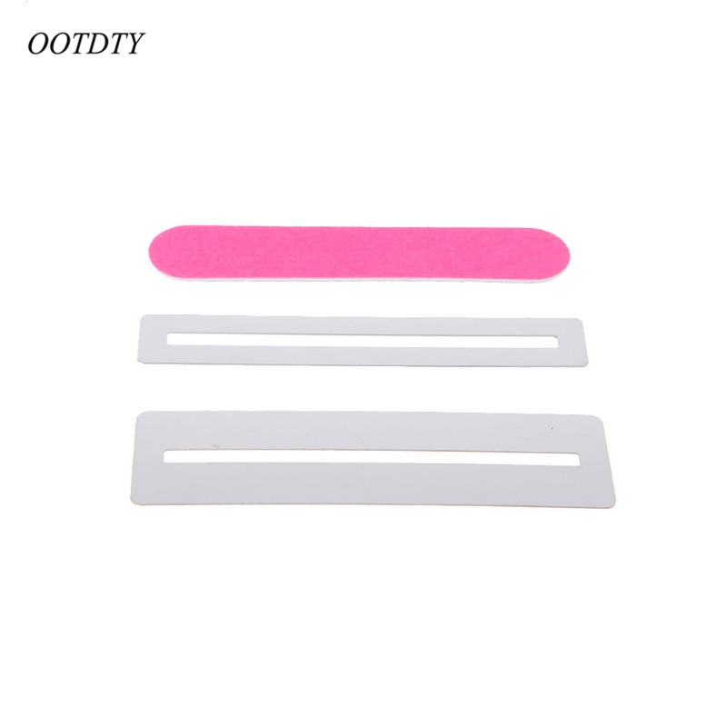 Guitar Parts & Accessories Musical Instruments Beautiful Guitar Fingerboard Guards With Polishing Stone And Protect File Cleaning Tool Set Fretwire Polishing Beam Diy Luthier Tool
