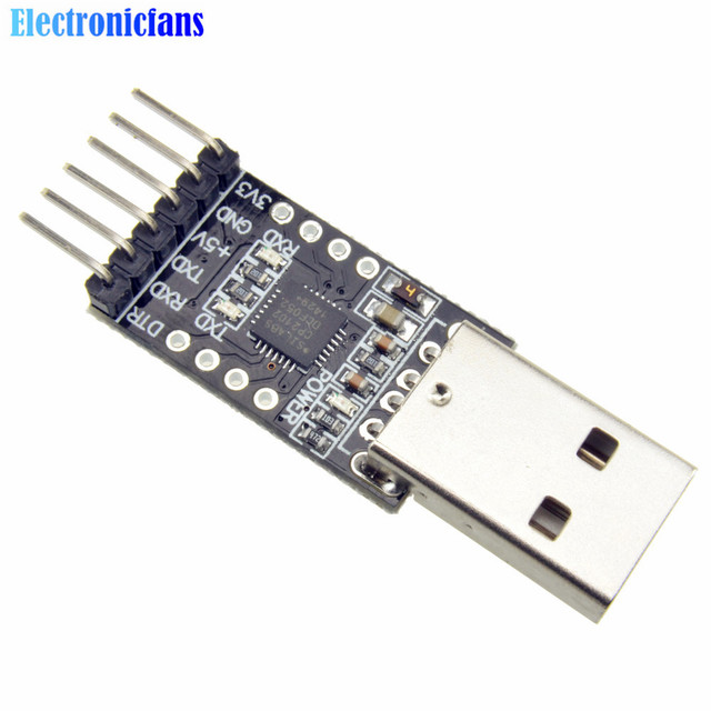1 piezas CP2102 USB 2,0 a TTL UART módulo 6Pin serie convertidor STC reemplazar FT232 Módulo adaptador de 3,3 V/ alimentación de 5 V