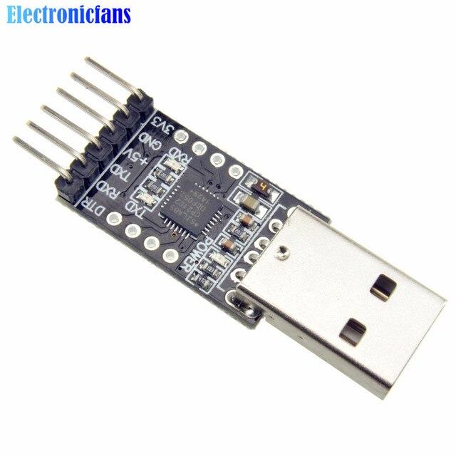 1 unids CP2102 USB 2,0 a TTL UART módulo 6Pin serie convertidor STC reemplazar FT232 Módulo adaptador de 3,3 V/5 V de potencia
