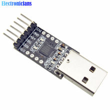 1Pcs CP2102 USB 2.0 to TTL UART Module 6Pin Serial Converter STC Replace FT232 Adapter Module 3.3V/5V Power(China)