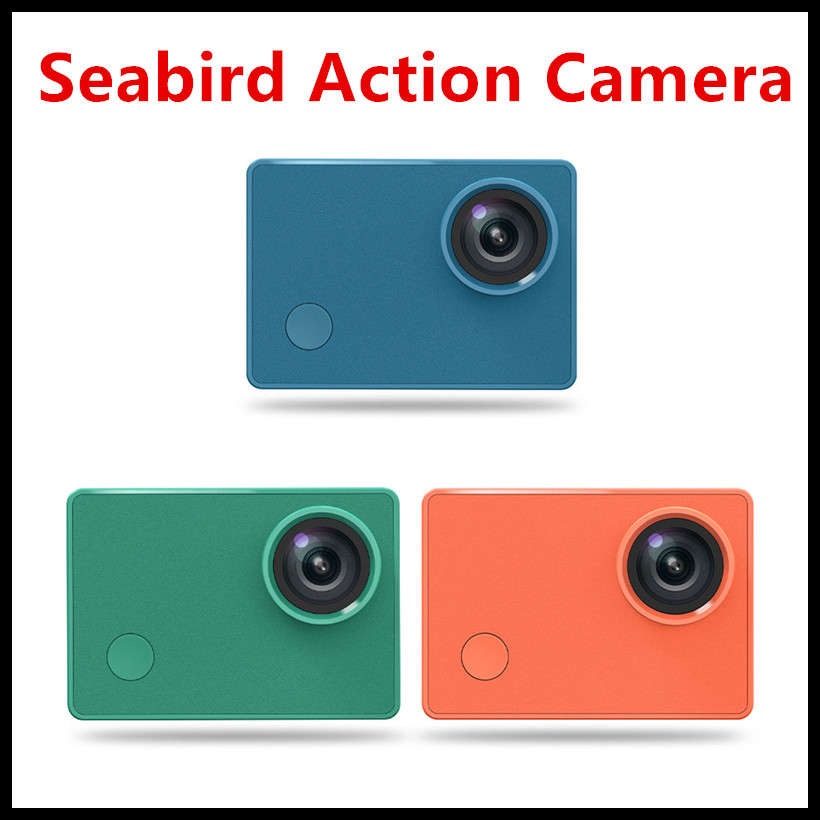 Xiaomi Seabird 4K Action Camera 2.01 Million Pixels 4K/30 Frames Support SDIO3.0 High Speed Transmission App Control Sports Cam image