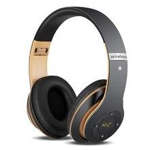 Беспроводные Наушники Стерео Гарнитура Headfone Casque Аудио Bluetooth Наушники Беспроводные для Компьютера PC Aux Головной Телефон