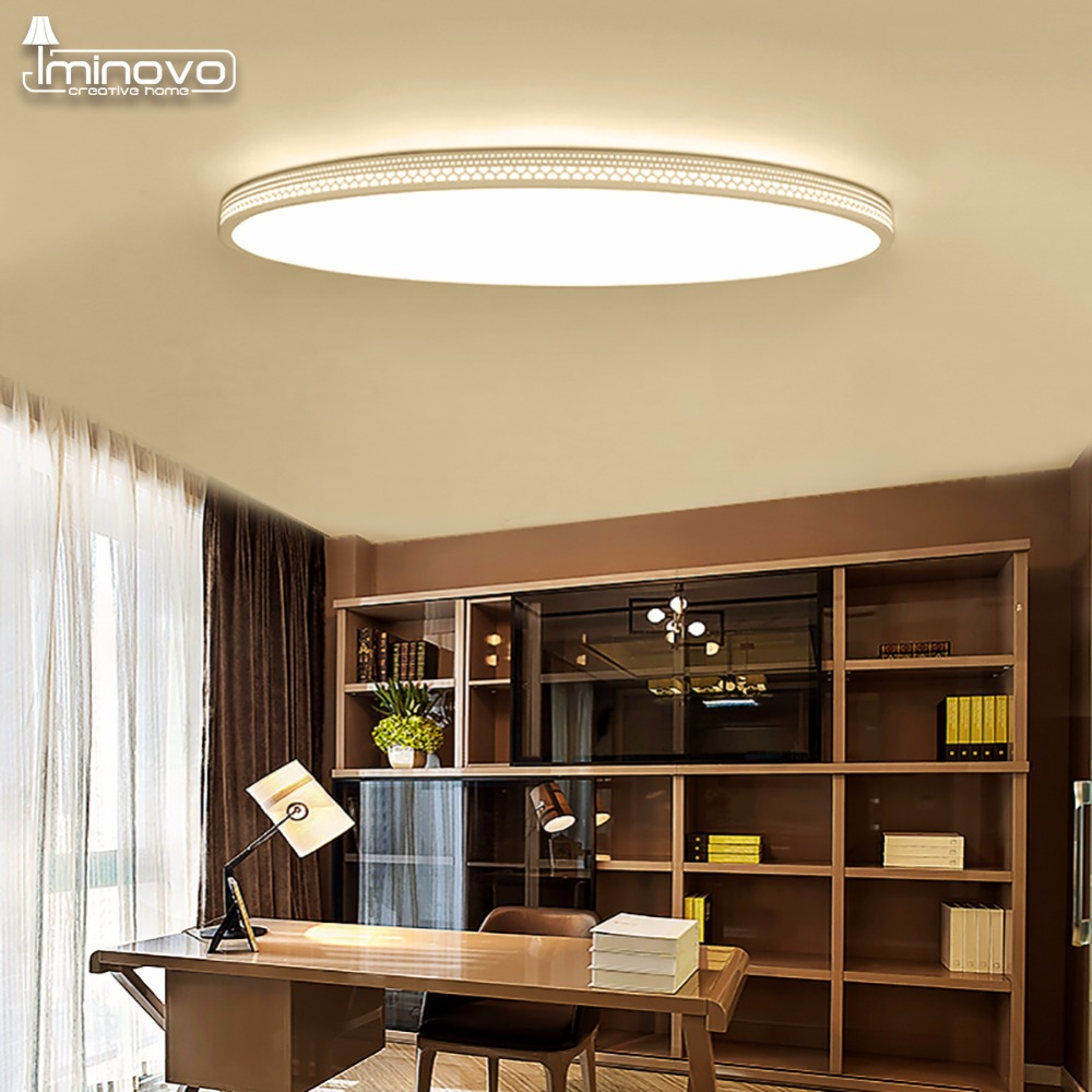 led lighting for living room aliexpress buy iminovo ultra thin led ceiling lamp 21978