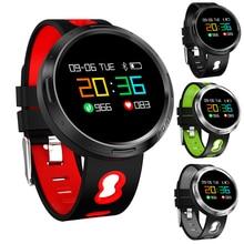 цена LIGE New Men Smart sport Bracelet Women LED Clock Blood Pressure Heart Rate Monitor Fitness Pedometer Bluetooth Smart Watch +BOX онлайн в 2017 году