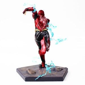 Image 4 - 16cm 플래시 아이언 스튜디오 Justice League Art Scale 1/10 PVC 액션 피규어 소장 모델 장난감