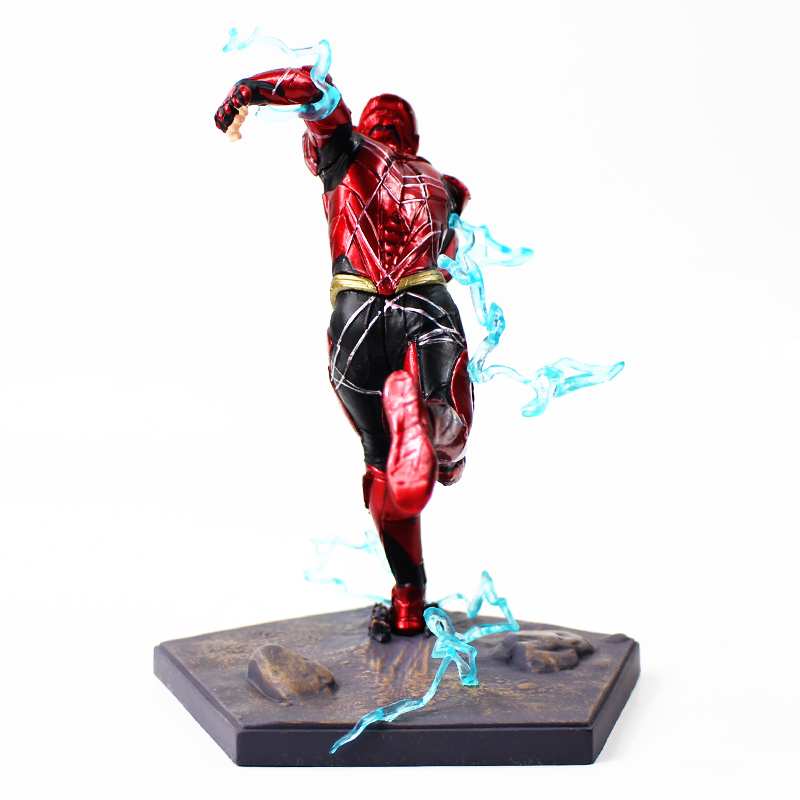 Image 4 - 16cm The Flash Iron Studios Justice League Art Scale 1/10 PVC Action Figure Collectible Model Toy-in Action & Toy Figures from Toys & Hobbies
