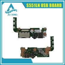 original for ASUS S551L S551LN V551 K551 K551L R551LA R551LB USB AUDIO board S551LN IO BOARD free shipping