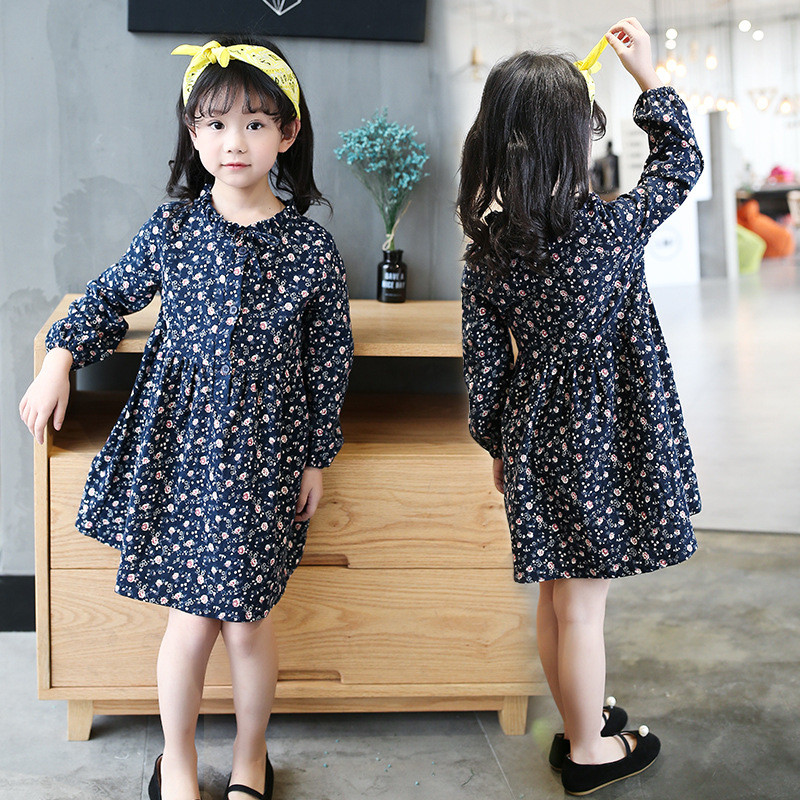 luoyamy Spring Summer Girls Cute Tie Dress Kids Bow Graduation Gowns  Children Clothing Baby Floral Dresses-in Dresses from Mother   Kids on  Aliexpress.com ... cc75ccf93db6