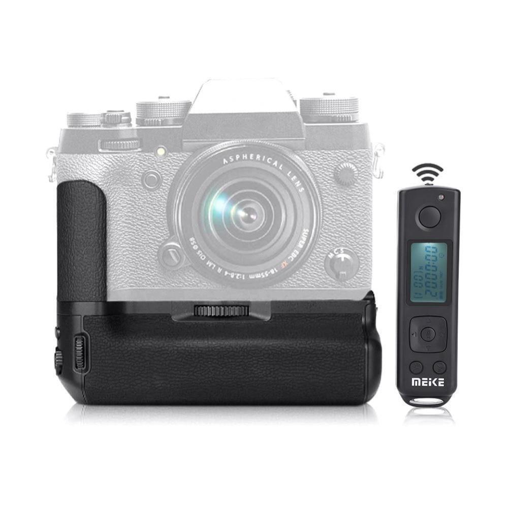 JinTu MK XT2 Pro Battery Grip +2.4G Wireless Remote for Fuji Fujifilm X T2 XT2 as VPB XT2 SLR Camera W/ 2 step shutter button-in Battery Grips from Consumer Electronics