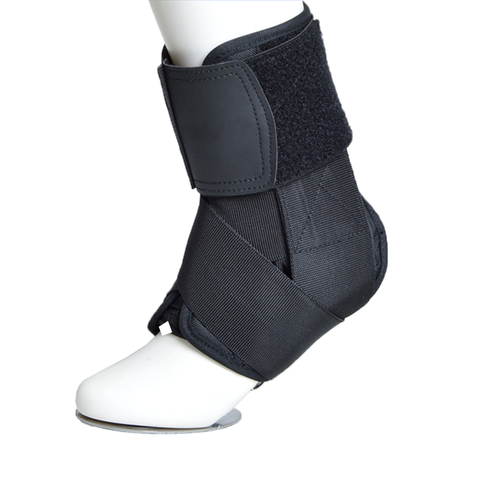 1pc Back Ankle Braces Bandage Straps Sports Safety Adjustable Ankle Protectors Supports Guard Foot Orthosis Stabilizer
