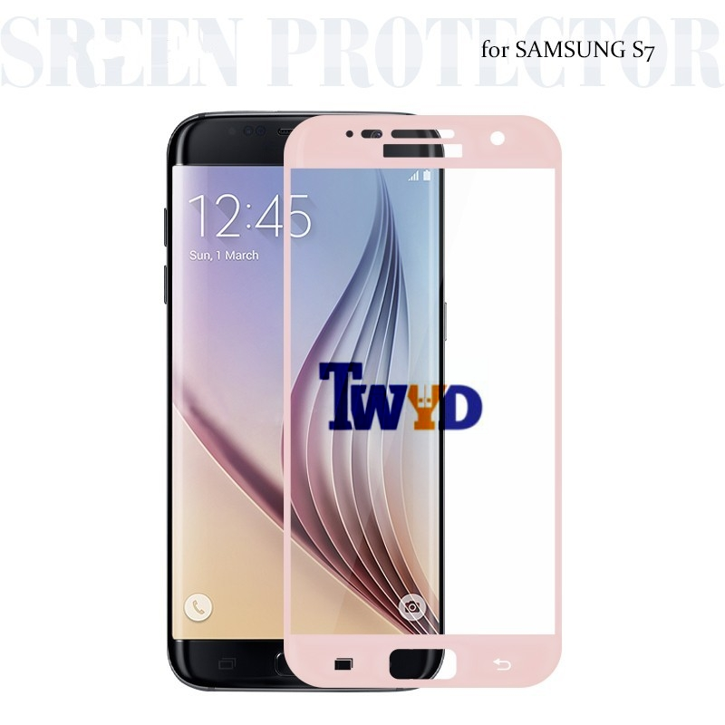 Premium 9H Full Covered Anti-Scratch Gehard Glas Screenprotector voor Samsung Galaxy S7 SM-G930f G9300 Beschermfolie