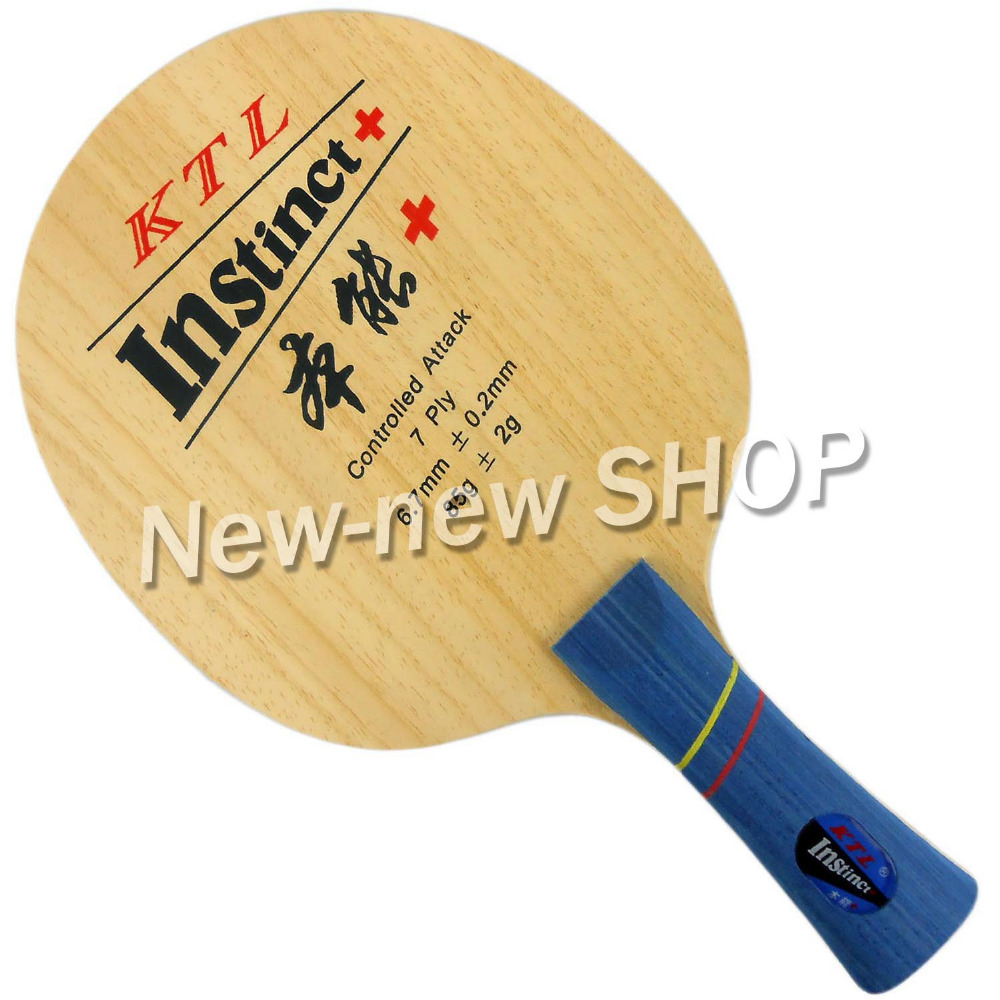 KTL Instinct+ Shakehand Table Tennis Racket Blade for ping pong paddle boer table tennis 1 star ping pong racket paddle