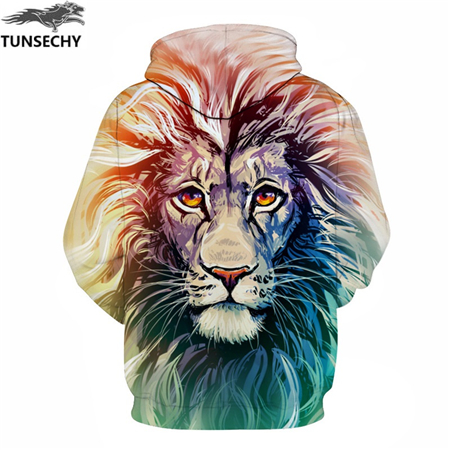 shop Lion Print Men/Women 3D Sweatshirts Print Milk Space Galaxy Hooded Hoodies Unisex with crypto, pay with bitcoin