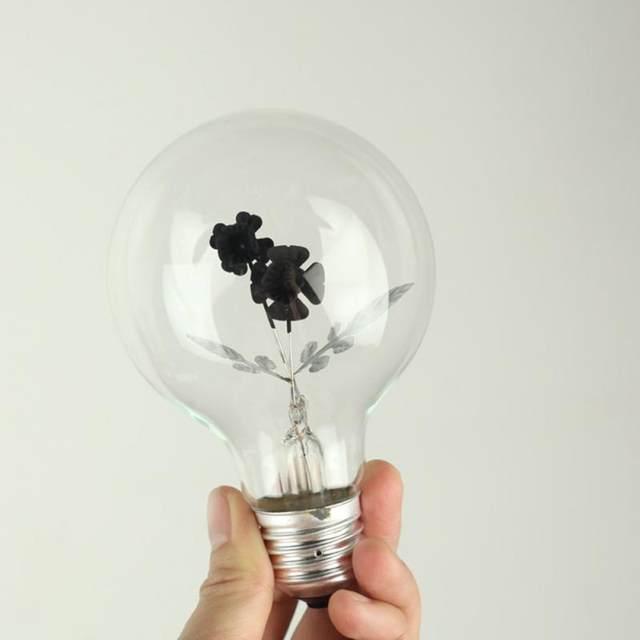 Online Shop 3W Vintage Industrial Filament Floral Iris E27 LED Night Light  Bulbs Screw Cap Lamp 3 Pattern | Aliexpress Mobile