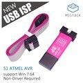 M5Stack официальный ISP USBisp программатор для 51 Atmel AVR скачать поддержка Win7 64 случайный цвет - фото