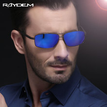 Raydem Stainless Steel Men's Sun Glasses Polarized Driving Oculos masculino Male Eyewear Accessories Sunglasses For Men 2458