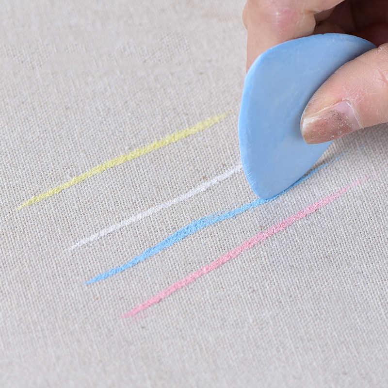 Kleurrijke Uitwisbare Stof Kleermakers Krijt Stof Patchwork Marker Kleding Patroon Diy Naaien Gereedschap Handwerken Accessoires