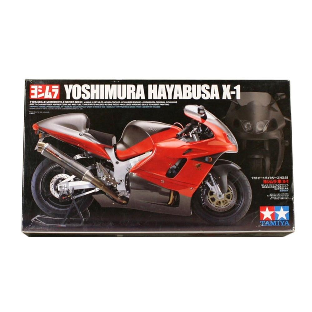 OHS Tamiya 14093 1/12 Yoshimura Hayabusa X1 Scale Assembly Motorcycle Model Building Kits G ohs tamiya 14121 1 12 nsr500 84 scale assembly motorcycle model building kits
