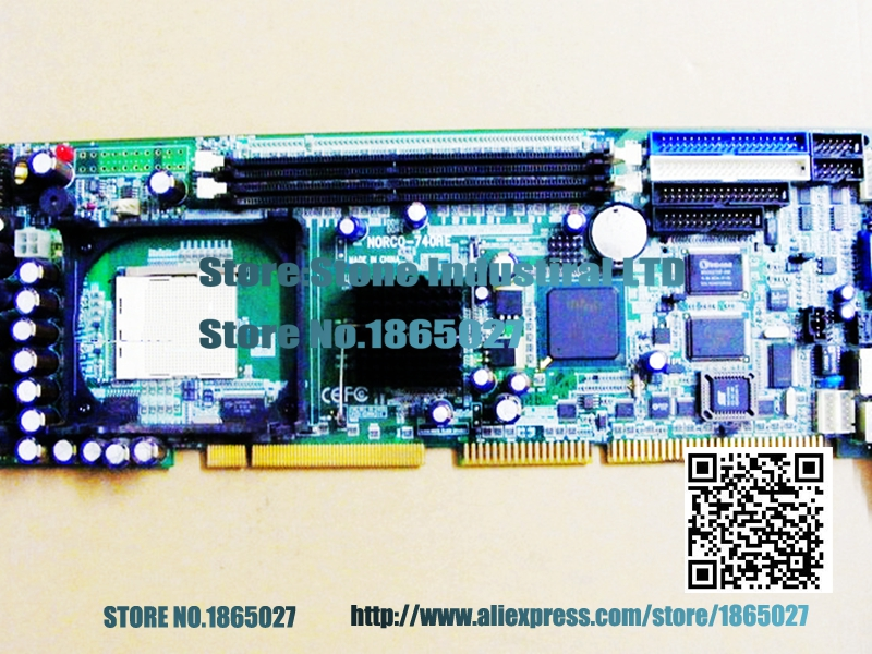 NORCO-740AE NORCO-740 845GV CPU board fully integrated Industrial Motherboard 100% test good quality ibs 940 industrial motherboard with 945 chipset fully replace fsc 1814 100% test