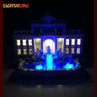 LED Light Up Kit For Building Blocks Lepin 21020 Trevi Fountain Kids Toys