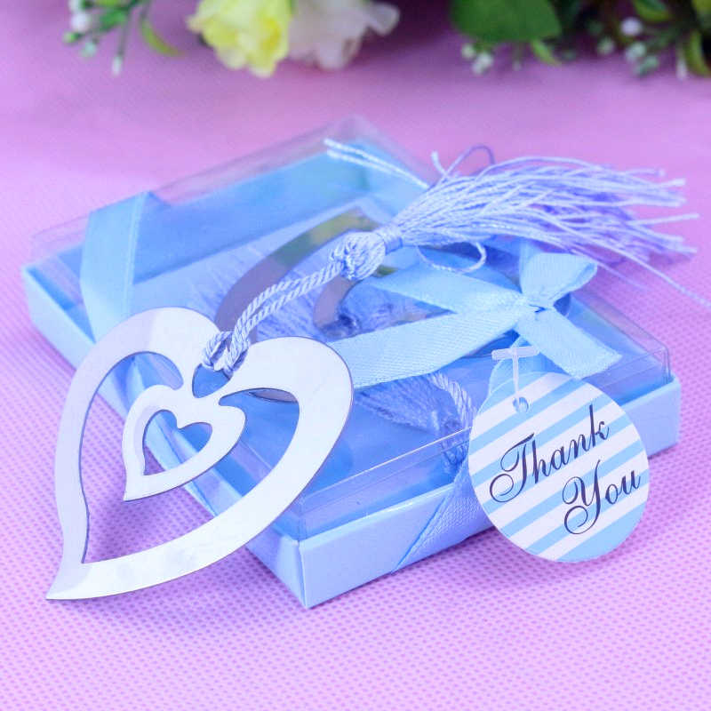 20 PCS Bulk Hollow Heart บุ๊คมาร์คสำหรับ Party Favor Baptism Baby เจ้าสาวของที่ระลึกงานแต่งงานของขวัญและของขวัญผู้เข้าพัก