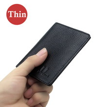 Ultra Thin Genuine Leather Wallet
