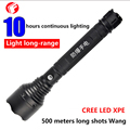 LED flashlight Rechargeable CREE Q5 XPE Car Convoy glare outdoor self-defense shots Security Emergency police flashlight