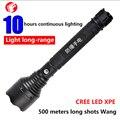 Recarregável lanterna LED CREE Q5 XPE Carro Comboio reflexo tiros ao ar livre auto-defesa lanterna De Emergência da polícia de Segurança