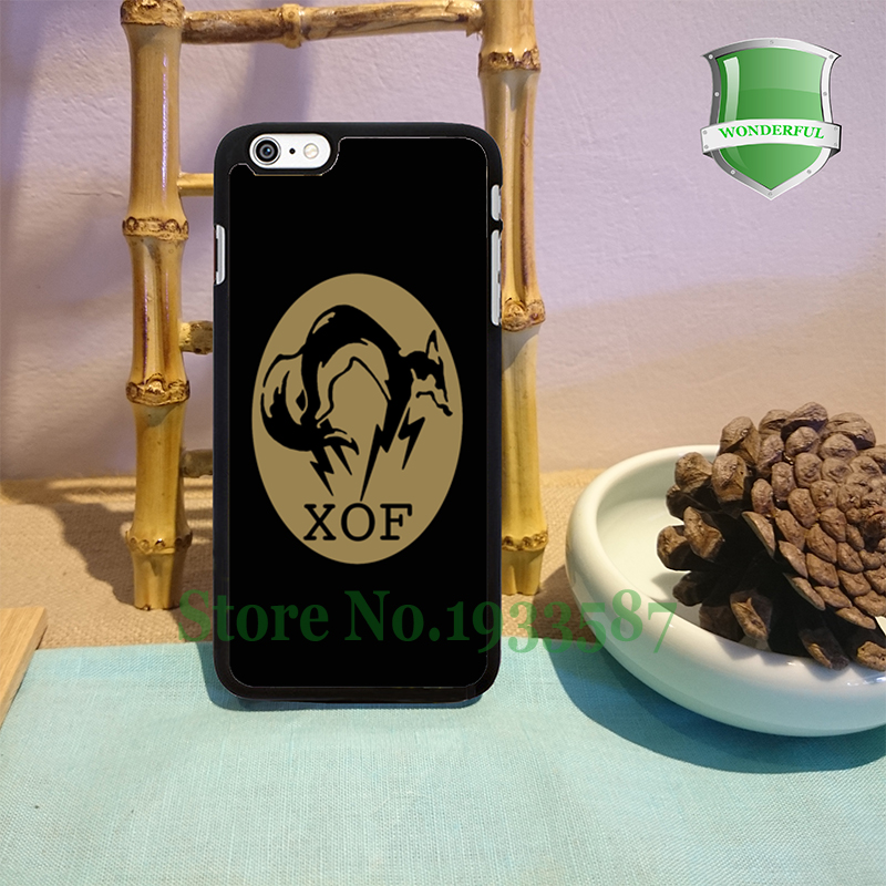XOF METAL GEAR SOLID V THE PHANTOM PAIN Black Cell Phone Cases For Iphone 7 7plus 6 6 plus 6s 6splus 5 5s 5c 4 4s B*0324