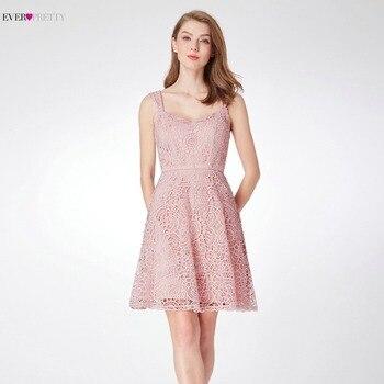 29c75c567fcc6c2 Ever Pretty женские элегантные коктейльные платья а-Силуэт без рукавов  короткое платье для вечеринок сладкий
