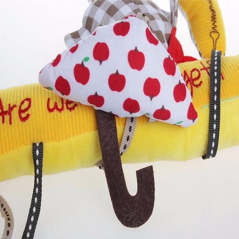Baby Musical Crib Mobiles Leker Hanging Cartoon Toy Barnevogn Bird - Baby og småbarn leker - Bilde 5