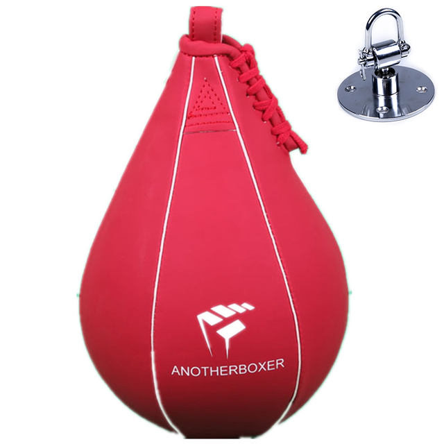 Professional Fitness Boxing Pear Speed Ball Swivel Boxing Punching Speedbag Base Accessory Pera Boxeo Training Boxing Equipment 4