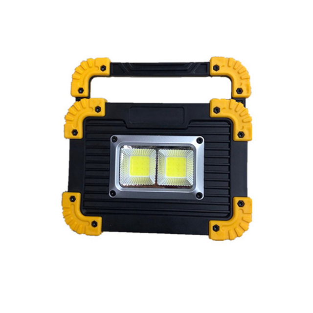 ARILUX 20W Portable LED Lantern Dual COB LED USB Rechargeable LED Camping Work Flood Light Outdoor Searchlight