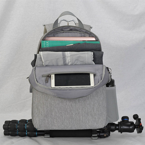 "Camera Bag Digital Camera Videos Bag Waterproof Laptop 14"" School Casual Photo Bag for Canon Nikon Sony Camera Backpack Islamabad"