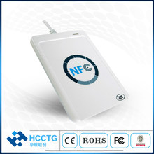 13.56 mhz Android USB Contactless ภายนอก NFC Smart Card Reader Skimmer ใช้โทรศัพท์มือถือ ACR122U(China)