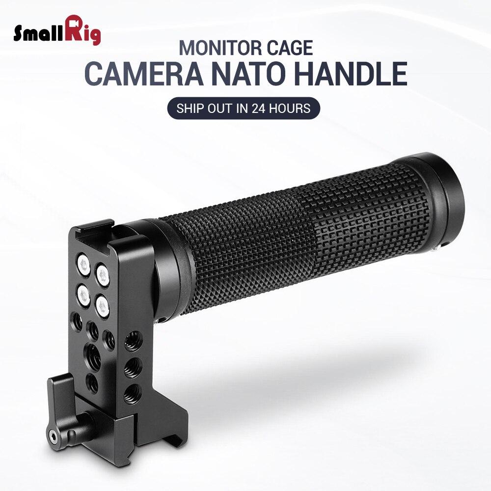 SmallRig DSLR Camera Hand Grip QR NATO Handle Rubber DIY Stabilizer Handle Grip 2005
