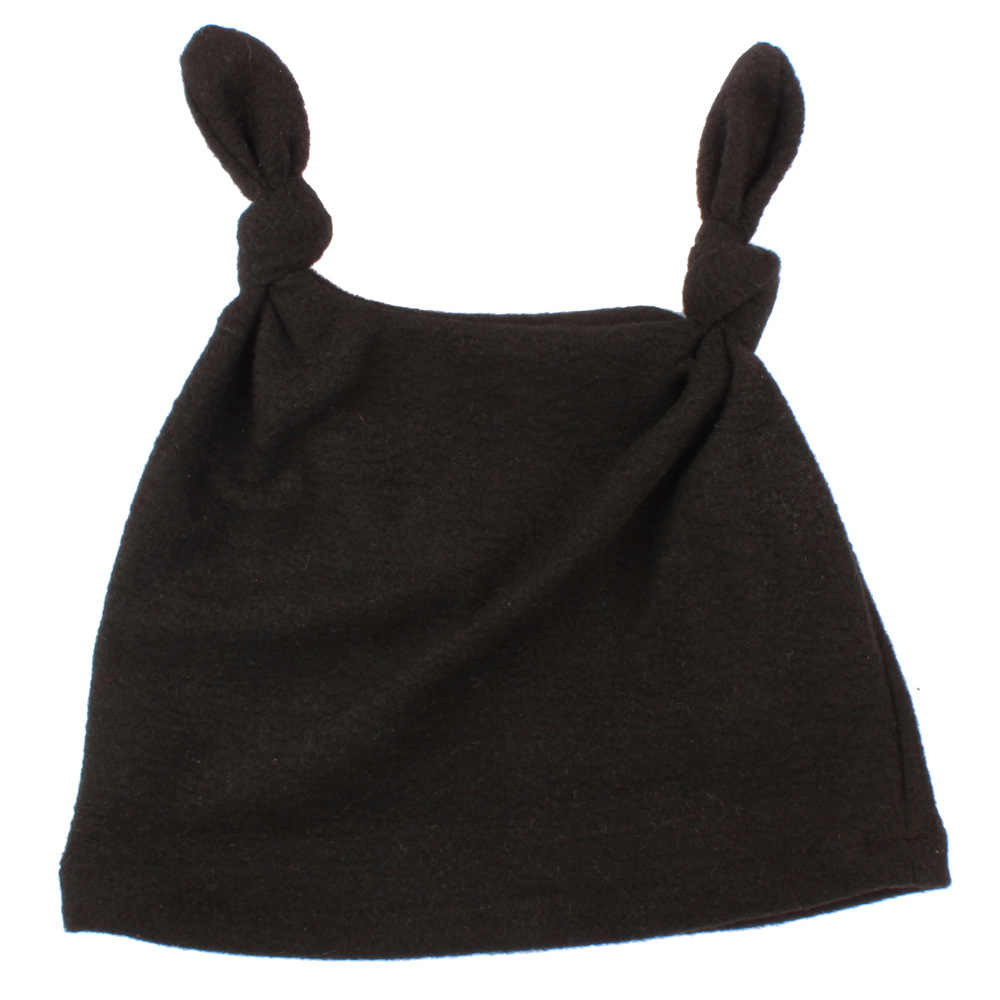 ทารกแรกเกิดเสื้อผ้าเด็กอบอุ่นสบายกำมะหยี่หมวกแฟชั่นปรับหมวกเด็กหมวกสาว