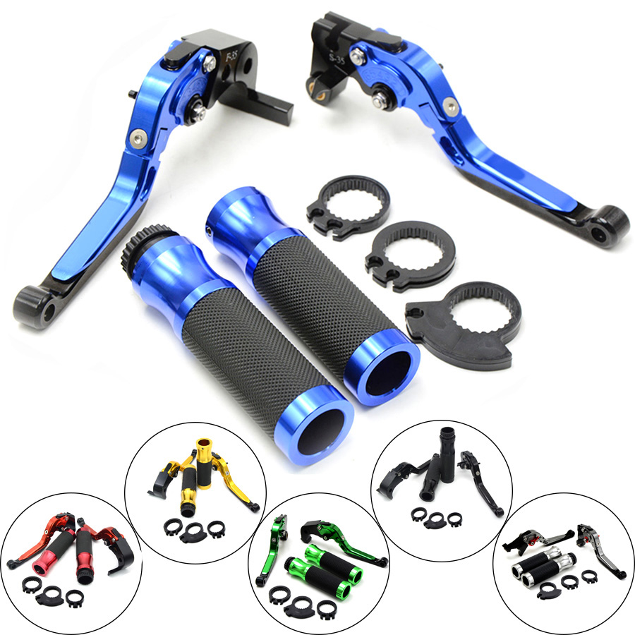 New Hot Motorcycle Brakes Clutch Levers Adjustable Folding Extendable & handlebar handle bar For KAWASAKI H2 H2R 2015 2016 15 16 free delivery for bmw f800gs adventure adventure motorcycle modified cnc non slip handlebar single folding brakes clutch levers