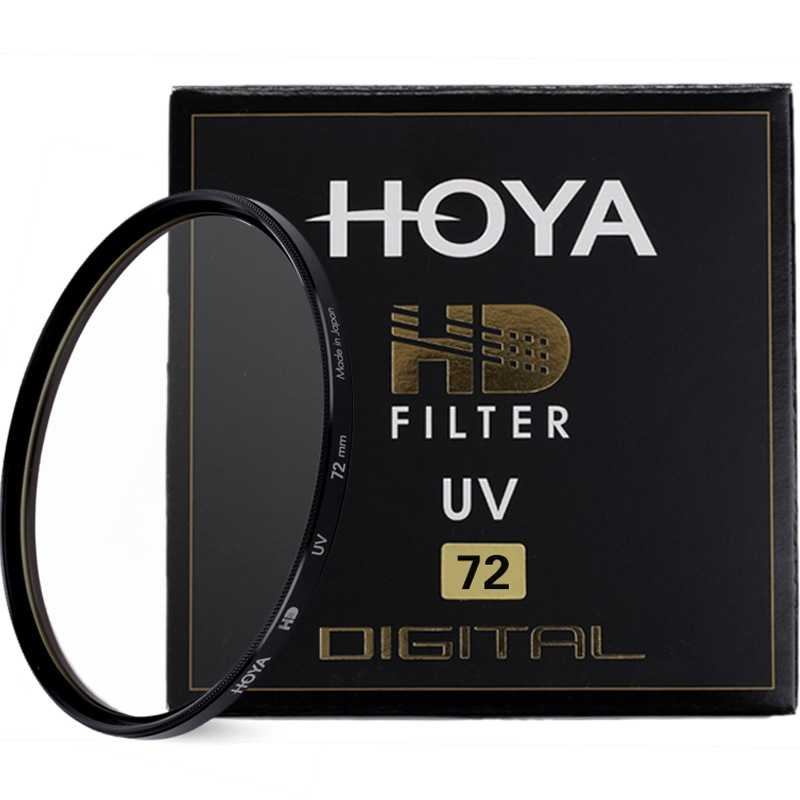HOYA HD MC-UV 49mm 52mm 55mm 58mm 62mm 67mm 72mm 77mm 82mm Hardened Glass 8-layer Multi-Coated Digital UV (Ultra Violet) Filter image