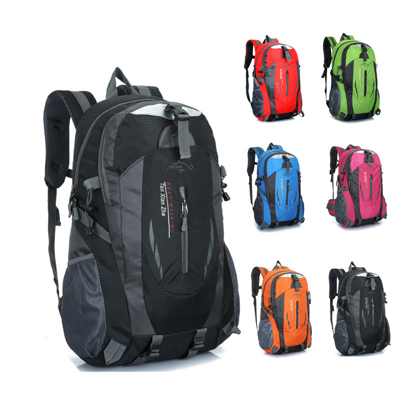 805ad443783e US $17.24 29% OFF 55L Waterproof Backpack Hiking Bag Cycling Climbing  Backpack Travel Outdoor Bags Men Women Trekking Rucksack Travel outdoor  Bag-in ...