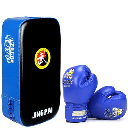 Home Considerate Children Kids Boxing Pads Thai Kick Boxing Strike Pads Muay Arm Punch Mma For Boxing Taekwondo Foot Target And Boxing Gloves Set Diversified In Packaging