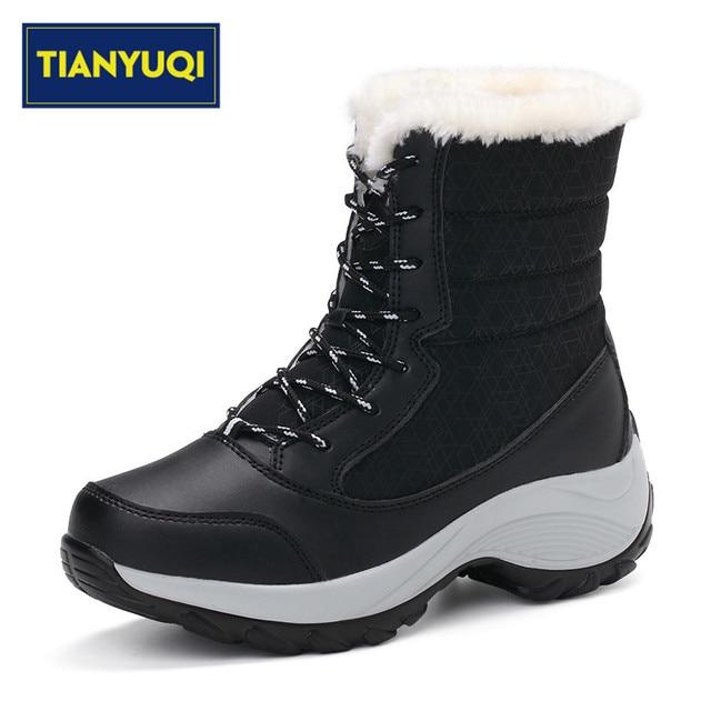Inverno Tianyuqi Caldo Donne Che Camminano In Peluche Scarpe Tenere mv0nw8N
