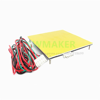 SWMAKER 120x120mm aluminum heated bed PCB heating bed, 120*120mm, reprap standard for Reprap 3D printer