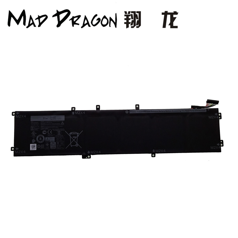 MAD DRAGON Brand Laptop NEW Lithium Battery for Dell Precisi