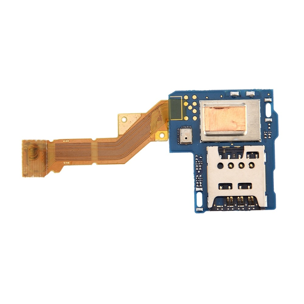 iPartsBuy SIM Card Reader Contact Flex Cable Ribbon for Sony Xperia S / LT26 / LT26i