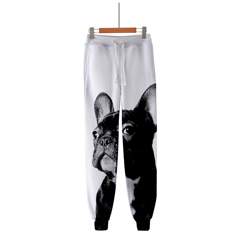 3d Joggers Pant Fashion Cartoon Cute French Bulldog Printed Casual Men Women Long Loose Trousers 3d Fitness Pants Sweatpants 4xl To Produce An Effect Toward Clear Vision