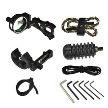 Archery Essential Compound Bow Accessories TP1000 Archer Upgrade Combo Sight Kits Shooting Hunting Set