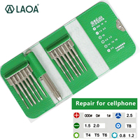 1 PCS LAOA S2 Material 12 In 1 Multifunction High Precision Screwdriver Set Repair For Cellphone