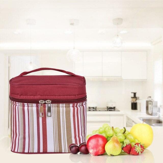 campingpicnic bag Food basket mini Insulation bag Hand breast milk fresh-keeping bag Lunch bag ice beer box ice pack