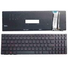 Клавиатура с подсветкой для ноутбука ASUS GL552 GL552J GL552JX GL552V GL552VL GL552VW N552VW N552VX G771JM G771JW US